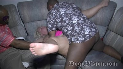 Interracial Bareback Sex Party Music..
