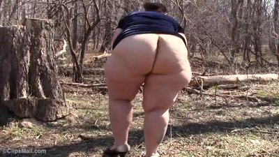 Consider, bbw thick wide ass nude spread all