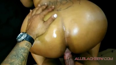 THICK MATURE EBONY POV BACKSHOT