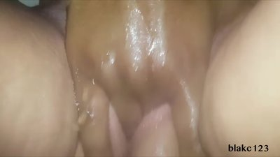 Extreme squirting orgasm from a bbc..