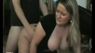 Amateur German BBW Sucks and Fucks..