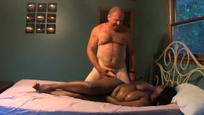 Hot Interracial Couple - Fun Reverse..