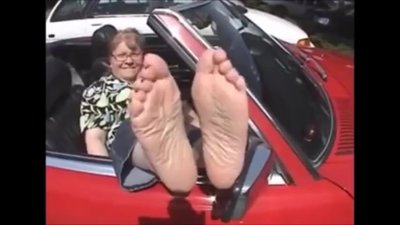 BBW Mature Soles And Toes - 55 Years Old