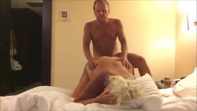 Naughty Blonde BBW Milf Getting Her..