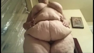 BBW / SSBBW Belly Play And Ass 2 (..