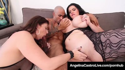 Cuban BBW Angelina Castro & King Noir..