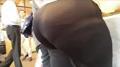 Russian Mature with EPIC VPL in tights..