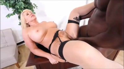 Chubby Big Titted Blond Mature Takes..