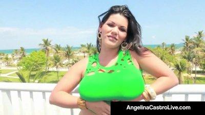 Sweet Cuban Angelina Castro Is Super..