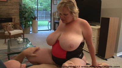 Huge Tit Blonde BBW MILF Gets Ass Fucked