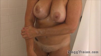 7 Big Butt BBW Wives and Teens Shower..