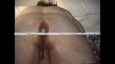 Mona ... 2 foot dildo in her ass , slo..