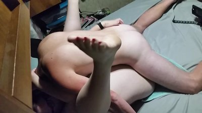 Bbw wife fuck and creampie