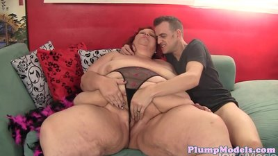 Doggystyle loving bbw gets a hard..
